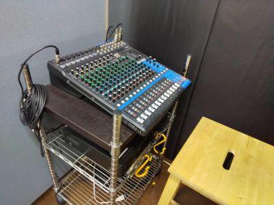 秋葉原スタジオ Tera-coya(てらこや) 3F音響・ダンスフロアの設備の写真