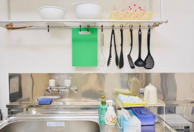 キッチン利用は有料オプションです - 八幡山駅【KPstudio】 レンタルスペースの設備の写真