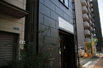 CAFE L'ETOILE DE MER 2Fサロンの入口の写真
