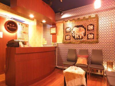 癒し処マイボディ新橋店 施術スペースの入口の写真