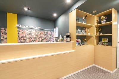 BIZcomfort仙台一番町 6名用会議室の入口の写真