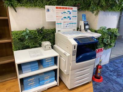BIZcomfort神戸元町 8名用会議室の設備の写真