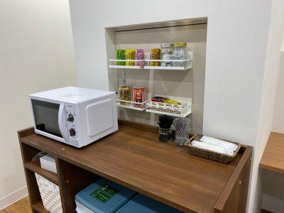 BIZcomfort神戸元町 1名用モニタールームの設備の写真