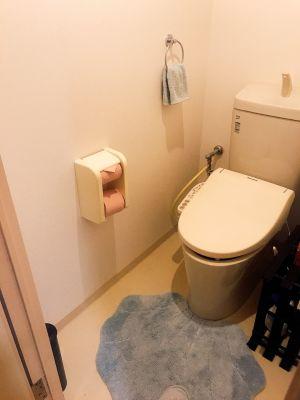 お手洗い - 美容レンタルスペース ネイルスペースの設備の写真
