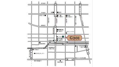 MAP - G201 駅近の静かで清潔な個室スペースの室内の写真