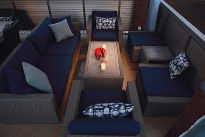 スカイフロントWaku Waku 全フロア貸切の室内の写真