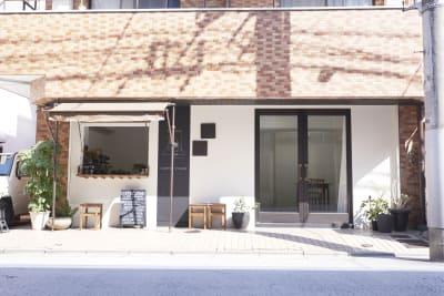 GALLERY SPINDLE 展示スペース、ギャラリースペースの外観の写真
