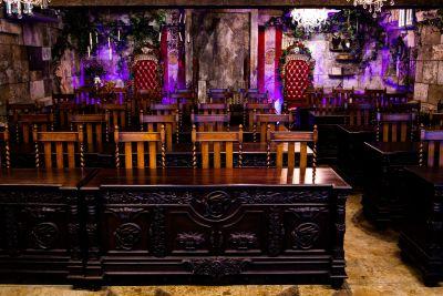 アイデアの城 王宮の魔法学校の室内の写真