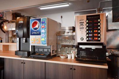 ビジネスホテルビーエル桑名 食堂レンタルスペースの設備の写真