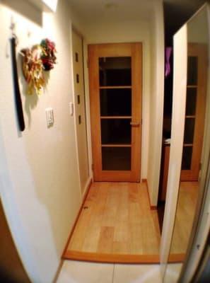 新宿コージースペース サロンスペースの入口の写真