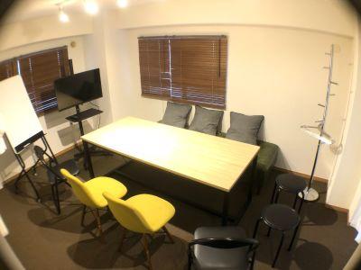 ランドプレイス道玄坂 デザイナーズ貸し会議室の室内の写真