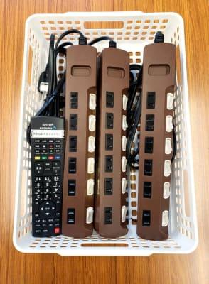 電源タップ6個口×3 - ★マルチアクセス貸会議室@アキバの設備の写真