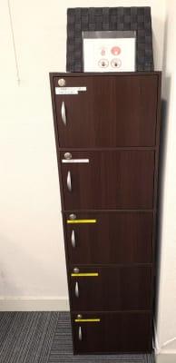 定期利用向けロッカー - ★マルチアクセス貸会議室@アキバの設備の写真