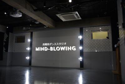 背面のスポットライトを浴びながら踊ることができます。 - mind-blowing レンタルダンススタジオの室内の写真