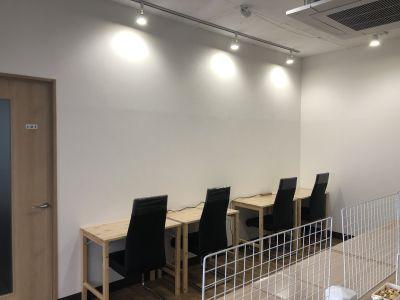 コワーキングスペース和と匠の時の室内の写真