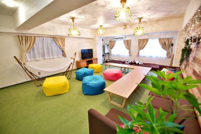 レンタルスペースJunes 広々スペースジュネスの室内の写真