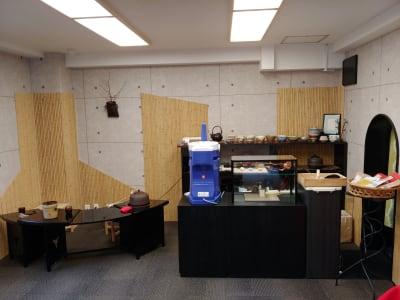 天野ビル ギャラリー、会議室、和の集まりの設備の写真