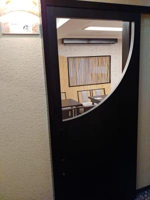 天野ビル ギャラリー、会議室、和の集まりの入口の写真
