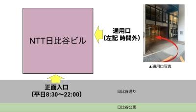 入退室方法と時間 - GOODOFFICE日比谷 イベントスペースのその他の写真