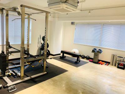 DB Gym シェアトレーニングジムの室内の写真