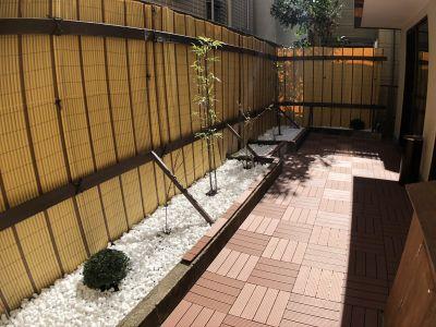 庭の風景です。 - 新宿市谷 癒し処 和風荘「和庭」 特別室半額!イベントスペースの室内の写真