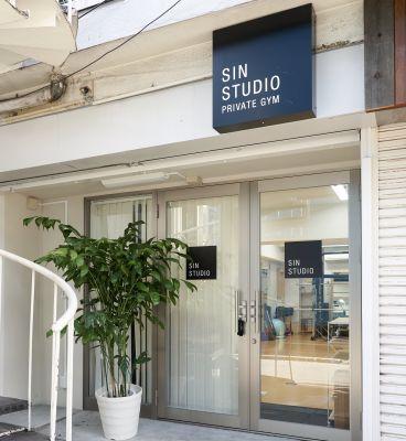 SIN STUDIO パーソナルスペースの入口の写真