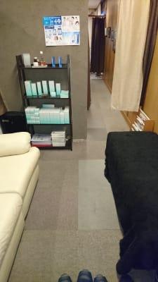 健康サロンCRAFT サロンスペースの入口の写真