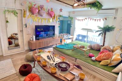 TS00128渋谷 パーティースペースの室内の写真