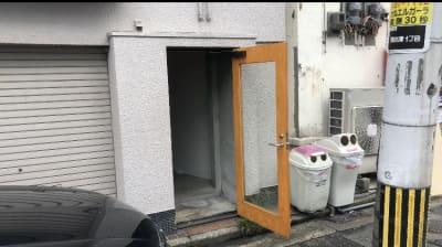 2階におあがりください - maruhachi マルハチスタジオの入口の写真