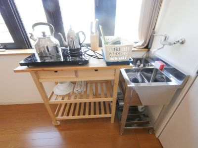 ONOYA APARTMENT 京橋キッチン付レンタルスペースの設備の写真