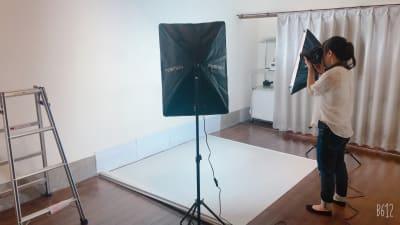 撮影風景 出張ベビーフォト 出張マタニティフォトできます。 - レンタルスタジオ ルペンディ Studio Rupendiのその他の写真