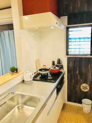 プラムアーク品川 205 キッチン・パーティの設備の写真
