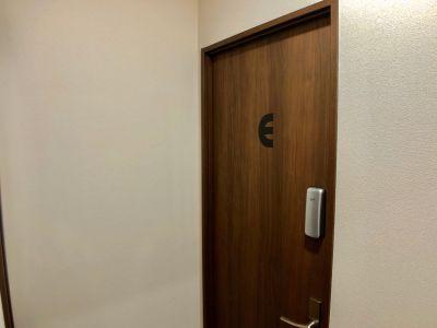 E号室の入り口です。 - グリーンハウス 新宿市谷 新宿市谷完全貸切個室-E号室の室内の写真