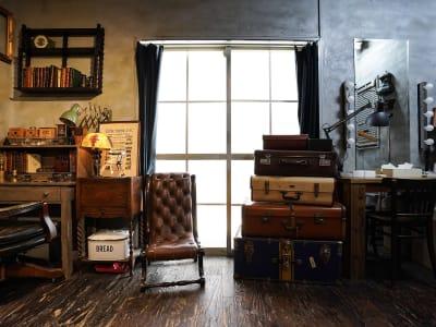 撮影スタジオunikk Dスタジオの室内の写真