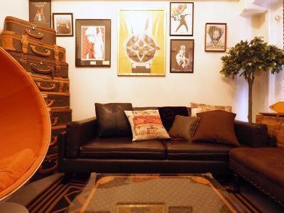 アート、こだわってます、レアです! - Lv5目黒川の室内の写真