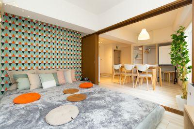 TS00093新宿 キッチン付き(最大10名)の室内の写真