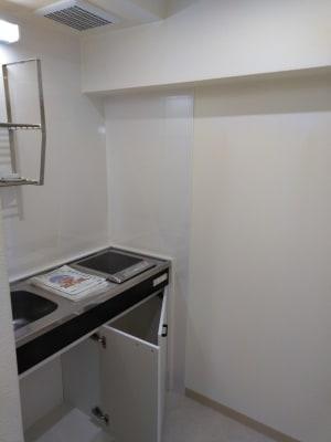 給湯スペースです。 - ヨガスタジオスワルーパ都立大学 ヨガスタジオ の設備の写真