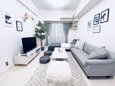 大阪の玄関口「新大阪」から徒歩5分。とても静かで安らげる空間です♪  ※寝具類のご用意はございません。 - SMILE+ノルディ新大阪 パーティルーム、打合せの室内の写真
