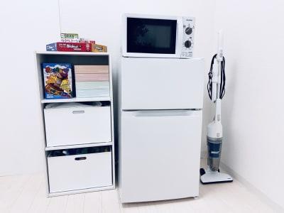 冷凍冷蔵庫、電子レンジ等もご活用くださいね! - SMILE+ノルディ新大阪 パーティルーム、打合せの設備の写真