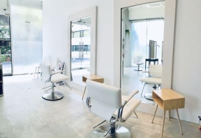 シンプルな店内です✨ - Special ヘアサロン シェアサロン✨(面貸しプラン①)の室内の写真