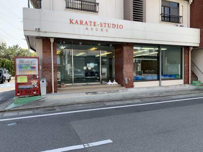 カラテスタジオ アスク レンタルスペースの入口の写真