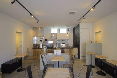CafeKolm レンタルカフェ・キッチンスタジオの室内の写真