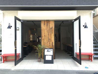 CafeKolm レンタルカフェ・キッチンスタジオの入口の写真
