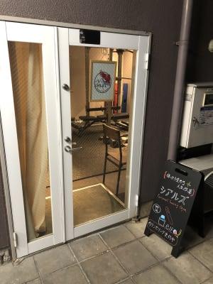 レンタルスペース シアルズの入口の写真