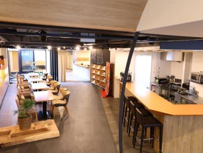 ホテル丸福京都東山 キッチンの入口の写真