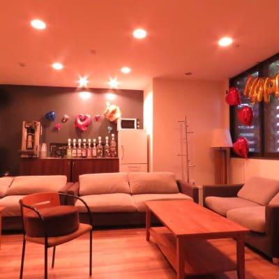 表町コベヤ 貸切スペースの室内の写真