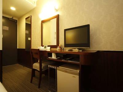 ホテルヒラリーズ ホテル客室、テレワーク、サロン、の室内の写真