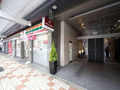 ホテルヒラリーズ ホテル客室、テレワーク、サロン、の入口の写真