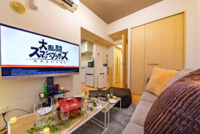 104_fika新宿歌舞伎町 キッチンスペースの室内の写真