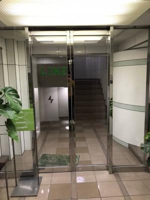 LiMEレンタルジム 新中野 レンタルジムの入口の写真
